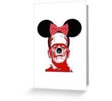 Frankie In Disneyland Greeting Card