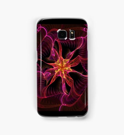 Star Ribbon Red Samsung Galaxy Case/Skin