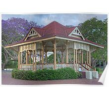 Rotunda • New Farm Park • Brisbane Poster