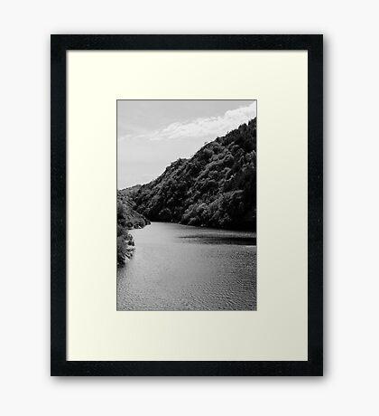 Italian landscapes - Lake San Domenico  Framed Print