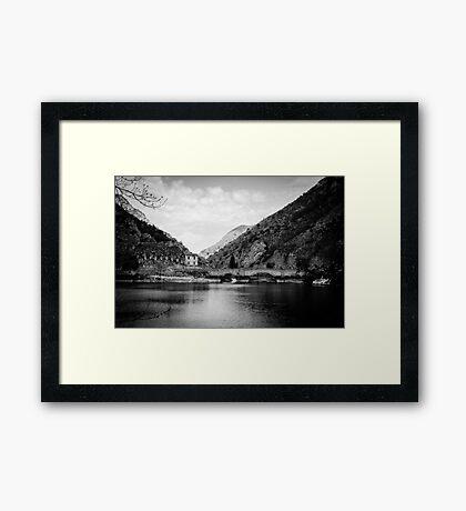 Lost not forgotten - Landscapes of Italy Framed Print