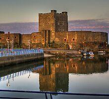 Carrickfergus Castle by Chris Tait