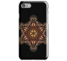 Metatron's Cube - Sacred Geometry Symbol - iPhone & iPod Cases iPhone Case/Skin