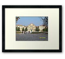 IL PARCODUCALE...la casa di Maria Luigia D'Austria, moglie di Napoleone..PARMA - ITALY- Europa - 2600  visualiz.- RB EXPLORE  NOV. 2011 -                                                  Framed Print