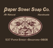 Paper Street Soap Co.T-Shirt by theycutthepower