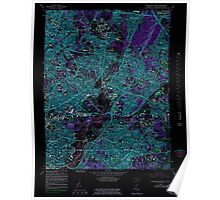 USGS Topo Map District of Columbia DC Washington East 256982 1965 24000 Inverted Poster