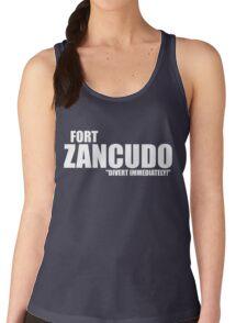 "Fort Zancudo ""Divert Immediately!"" Women's Tank Top"