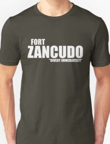 "Fort Zancudo ""Divert Immediately!"" T-Shirt"