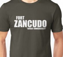 "Fort Zancudo ""Divert Immediately!"" Unisex T-Shirt"