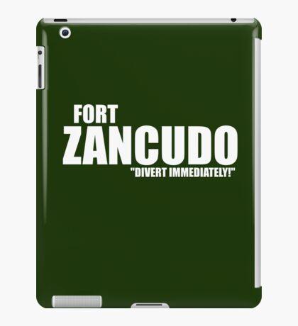 "Fort Zancudo ""Divert Immediately!"" iPad Case/Skin"