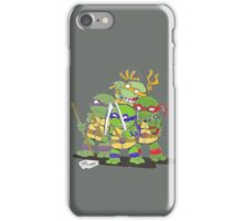 chibi tmnt iPhone Case/Skin