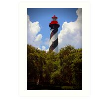 St. Augustine Lighthouse, St. Augustine, Florida Art Print