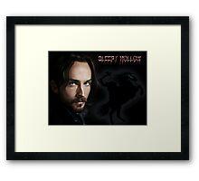 Ichabod and The headless horseman Framed Print