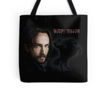 Ichabod and The headless horseman Tote Bag