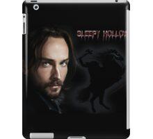 Ichabod and The headless horseman iPad Case/Skin