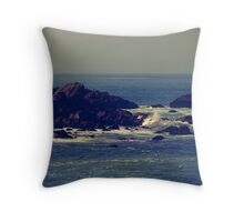 Let the rhythm of the sea heal you Throw Pillow
