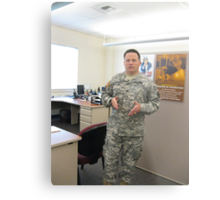 Col. Mike K. Johnson--It has been an honor Metal Print