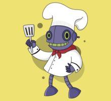 robot chef One Piece - Short Sleeve