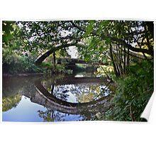 Beggars Bridge, Glaisedale, North York Moors  Poster