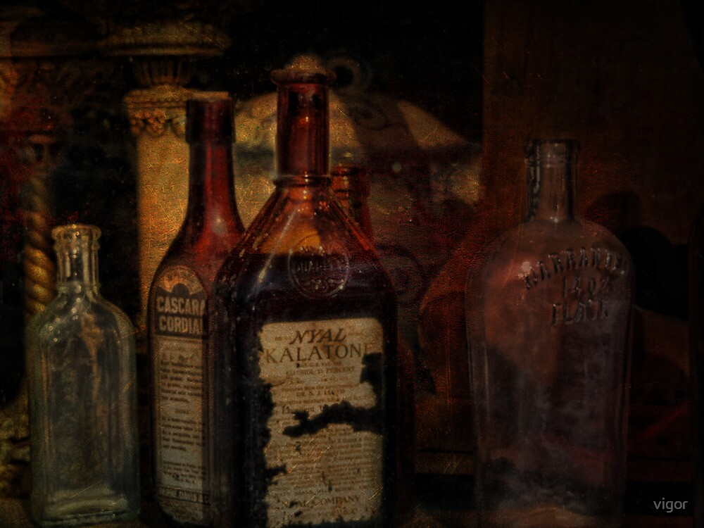 Bottles of Old  by vigor