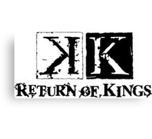 K PROJECT - RETURN OF KINGS Canvas Print