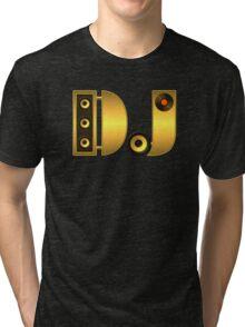 DJ gold Tri-blend T-Shirt