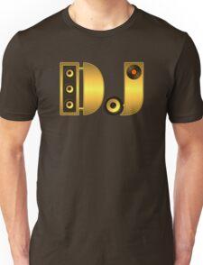 DJ gold Unisex T-Shirt