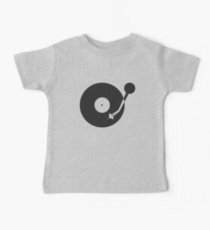 Space Needle Tone Arm Baby Tee