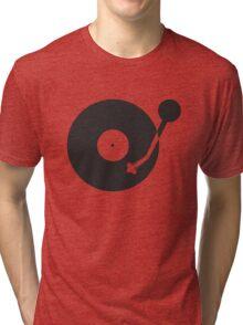 Space Needle Tone Arm Tri-blend T-Shirt