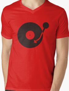 Space Needle Tone Arm Mens V-Neck T-Shirt