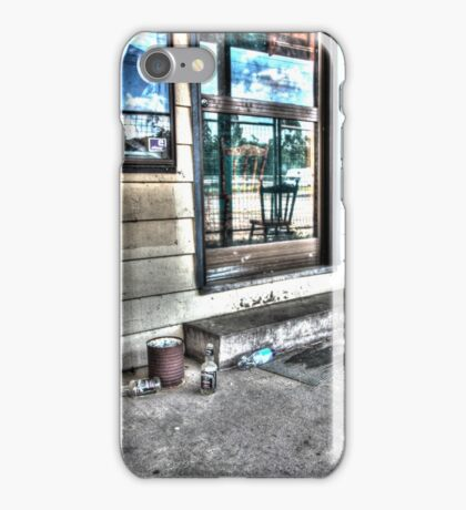 Two chairs. iPhone Case/Skin