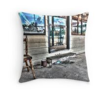 Two chairs. Throw Pillow