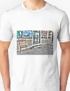 Two chairs. Unisex T-Shirt