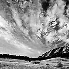 Sky Dreams At the Flatirons by Greg Summers