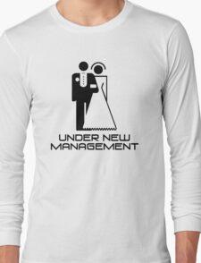 Under New Management Marriage Wedding Long Sleeve T-Shirt