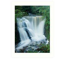 Alva Glen Waterfall Art Print
