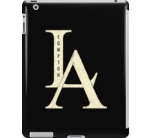 Compton los angeles rap iPad Case/Skin
