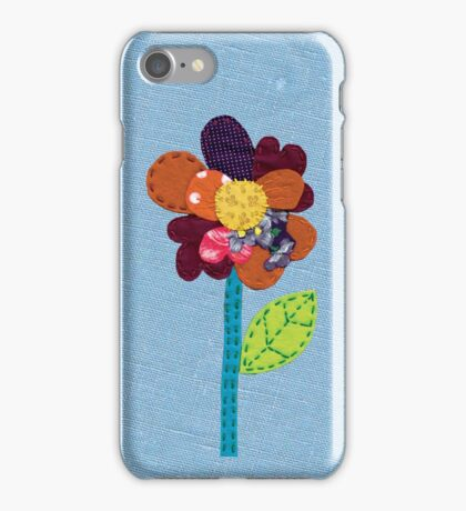 Fabric Flower iPhone Case/Skin