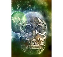 the crystal skull Photographic Print
