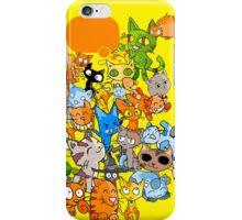 Crazy Cat iphone Case iPhone Case/Skin