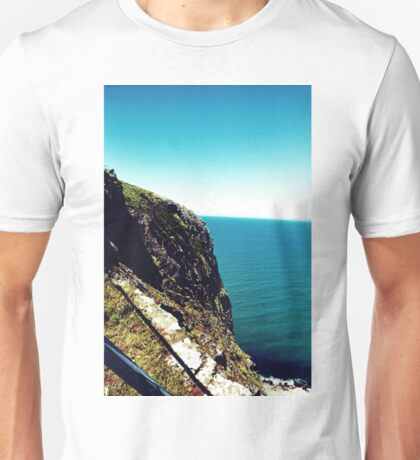The ocean from the Nut Unisex T-Shirt