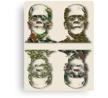 Well Camouflaged Frankenstein Canvas Print