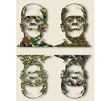 Well Camouflaged Frankenstein Photographic Print