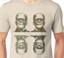 Well Camouflaged Frankenstein Unisex T-Shirt