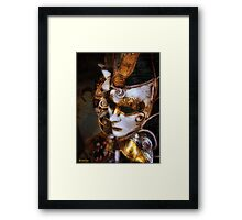 (◡‿◡✿) (◕‿◕✿) Silence Behind The Mask (◡‿◡✿) (◕‿◕✿) Framed Print