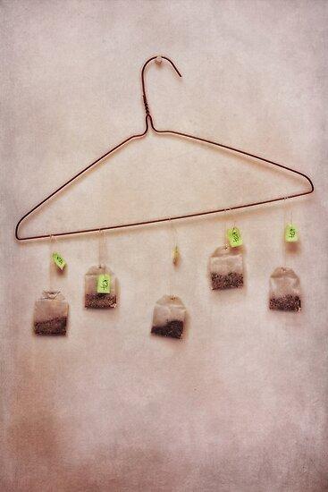 tea bags by Priska Wettstein