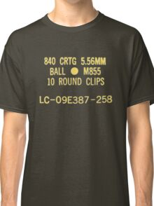 5.56x45mm M855 ammo can Classic T-Shirt