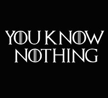 Know Nothing-GOT-white by MiiReee3