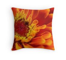flames of fire Throw Pillow