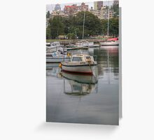 Small Boat Greeting Card